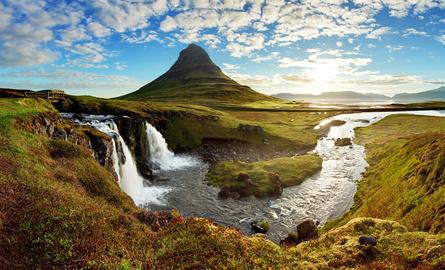 Panorama - Iceland landscape